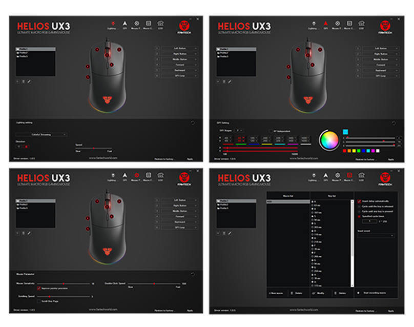 Mouse Gaming Crypto VX7 conten page - 6