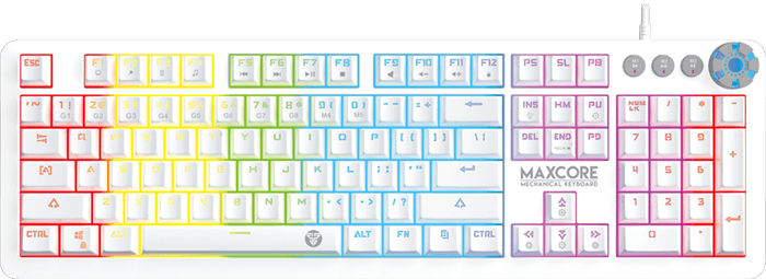 Keyboard Mechanical Gaming MAX CORE MK852 SPACE EDITION webpage 1