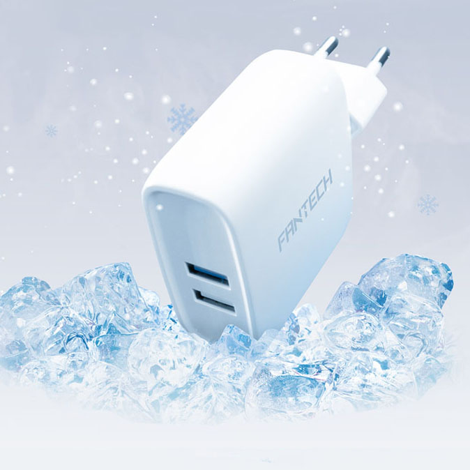 jual USB Charger Dual USB Fast Charging 30W - webpage 2