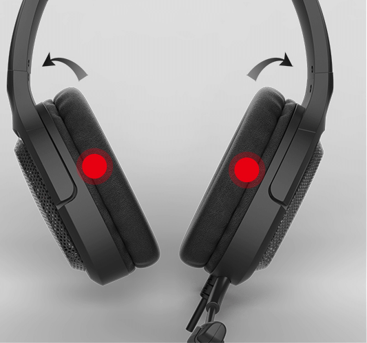 Headset Gaming VIBE MH85 Webpage 2