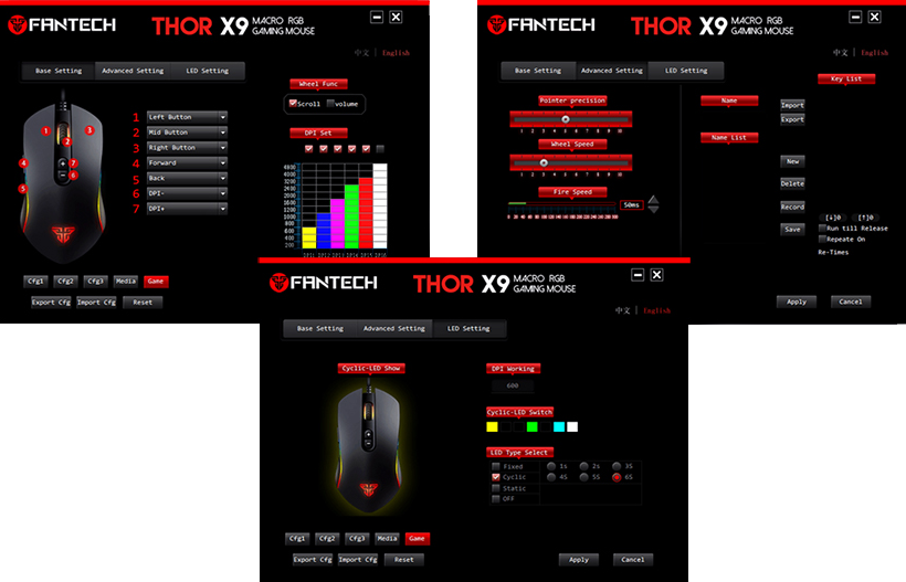 mouse gaming Thor X9 webpage 12